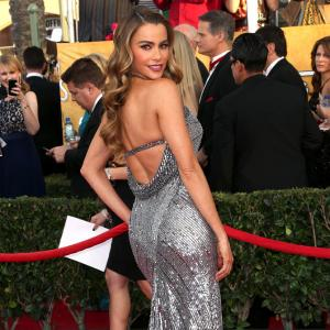 2014 SAG awards: On the red carpet with Sofia Vergara