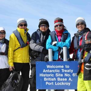 PHOTO: Juhi Chawla visits Antartica!