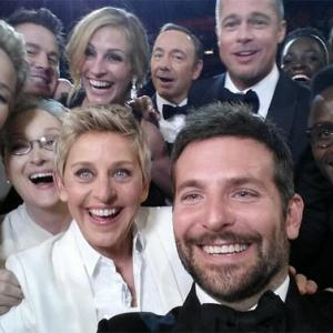 The Oscar selfie that brought Twitter down!