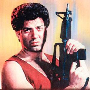 Quiz of the day: Who was the original choice for Ghayal?