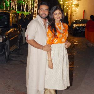 PIX: Shilpa Shetty's Diwali party