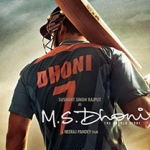First look: Sushant Singh Rajput as MS Dhoni