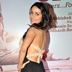 Shraddha: If I had inhibitions, I'd have refused to kiss on screen