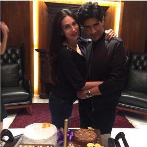 PIX: Karisma, Kareena, Alia at Manish Malhotra's birthday bash