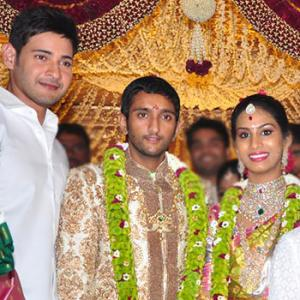 Pix: A wedding in Mahesh Babu's family