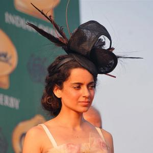 Like Kangna, Aishwarya, Kareena's Derby hats? VOTE!