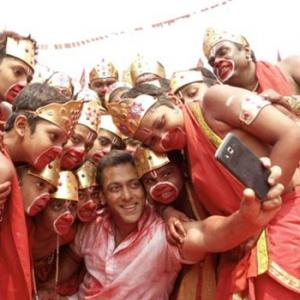 PIX: Behind the scenes of Bajrangi Bhaijaan