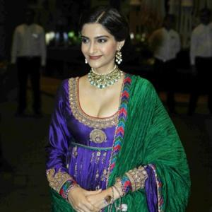 Sonam, Alia, Kangana at their fashionable best for Shahid's reception
