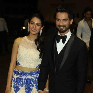 PIX: Shahid Kapoor's star studded wedding reception