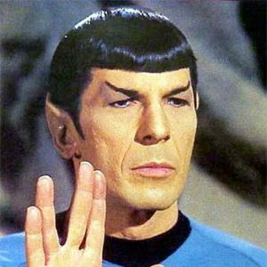 A salute to the supremely sexy Mr Spock