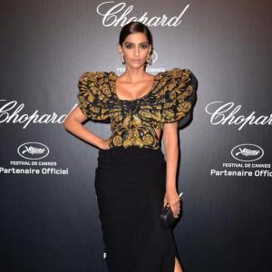 PIX: Sonam, Adriana Lima, Uma Thurman at Chopard party