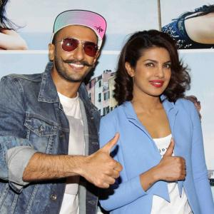 PIX: Ranveer, Deepika, Priyanka watch Dil Dhadakne Do