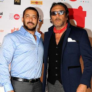 PIX: Salman mingles with Jackie Shroff at MAMI