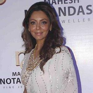 Gauri Khan, Bhagyashree, Poonam Dhillon mingle at a jewellery launch