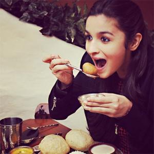 What's on Alia Bhatt's plate?