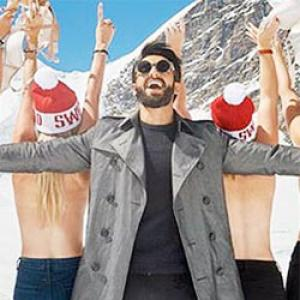 PIX: Ranveer's AMAZING Swiss holiday