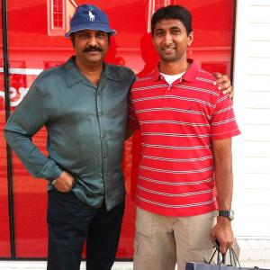 Spotted: Telugu actor Mohan Babu in New York