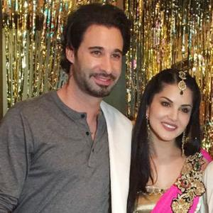 PIX: Sunny Leone attends brother's LA wedding