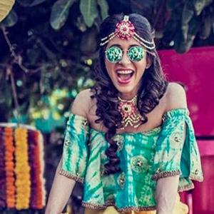 PIX: Kishwer Merchant's mehendi ceremony