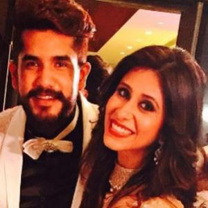PIX: Kishwer Merchant, Suyyash Rai's wedding reception
