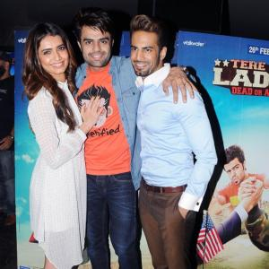 PIX: Karishma, Upen watch Tere Bin Laden: Dead or Alive