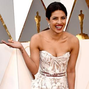 PIX: Priyanka Chopra, at the Oscars!