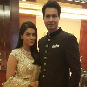 Asin-Rahul's wedding reception album!