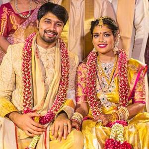 PIX: Chiranjeevi's daughter weds
