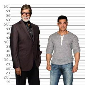 Shah Rukh, Salman, Hrithik: How tall are these actors?