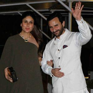PIX: Kareena-Saif party with Amitabh Bachchan, Sridevi