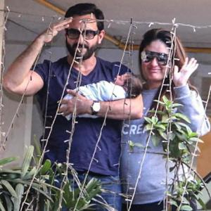 Cuteness alert: Taimur turns one!