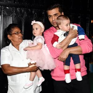 Bollywood tots celebrate Christmas