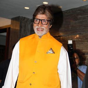 PIX: Amitabh, Kabir Khan raise funds for college