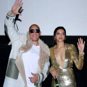 Watch: Vin Diesel-Deepika do the Lungi Dance