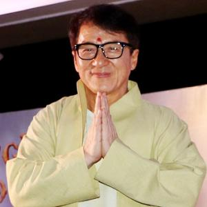 WATCH: Jackie Chan's Bollywood dance!