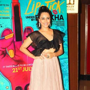Swara, Konkona, Poonam Pandey watch Lipstick Under My Burkha