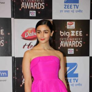PIX: Alia, Shahid win at Big Zee Entertainment awards