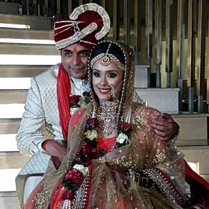 PIX: Hrishitaa Bhatt gets married
