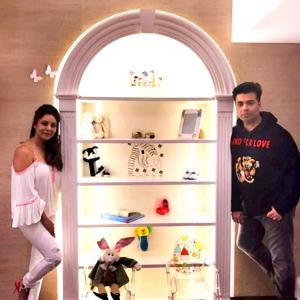 PIX: Step inside Karan Johar's twins' nursery!