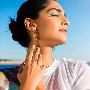 Cannes 2017: Sonam goes traditional on her first day!