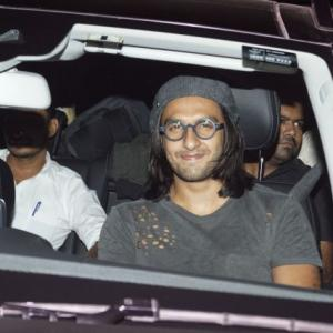 PIX: Ranveer, Alia, Shah Rukh party with Deepika