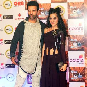 PIX: Aamir-Sanjeeda, Keith-Rochelle on the red carpet