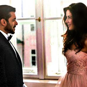 Salman Khan refuses to kiss Katrina!