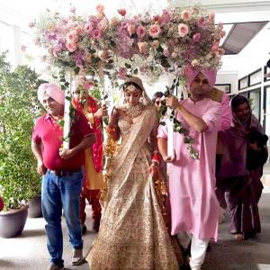 PIX: Aisha actress Amrita Puri gets married