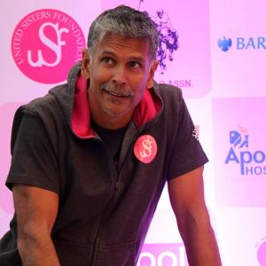 Watch: Why Milind Soman believes in women