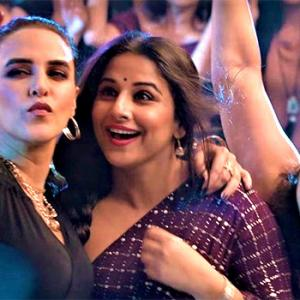 Watch: When Vidya, Neha, Malishka come together