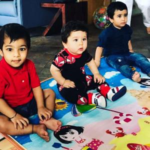 'Taimur and Laksshya's playdates happen once a month'