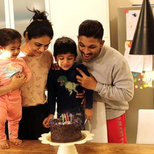 Allu Arjun's son turns 4