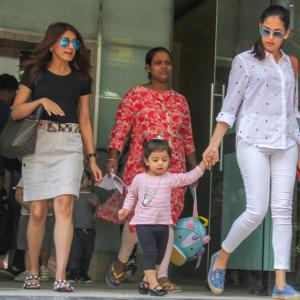 PIX: Taimur, Misha, Laksshya's day out...