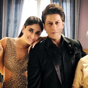 What's Kareena doing with Shah Rukh?